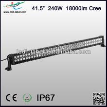 "Cree light bar, 240W 41.5"" cree 9-30V 18000lm ip67 led head lamp for kenworth trucks"