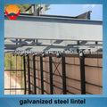 almacén de acero de diseño de acero galvanizado de dintel