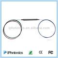 de fibra óptica de polarización mantenimiento de circulación con conector lc