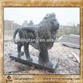 จีนหินสิงโต/รูปปั้นสิงโตสำหรับสวน/สิงโตรูปแบบจีน