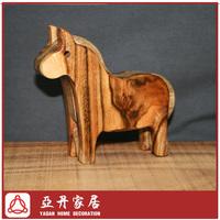 Wooden animal decoration/wooden crafts -Horse