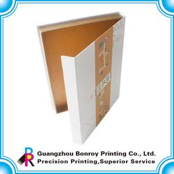 Custom printing corrugated t-shirt shipping packaging boxes