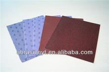 abrasive cloth sheet