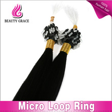 Wholesale Hot Style Hair Extensions Micro Loop Ring Clip in Hair Extension