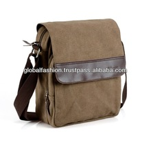 2014 new fashion and hot wholesale canvas leather shoulder bags for men messenger bag