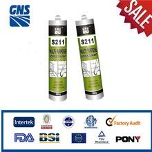 S211 Acrylic Mastic Sealant, Acrylic Paint Sealant