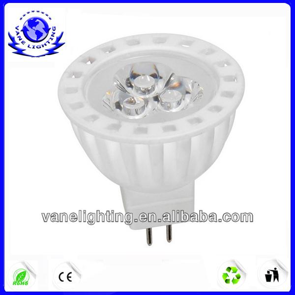 3w/4w ceremic spotlights MR16 led spotlight/led spot lighting