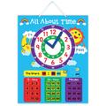 e1001 2014 caliente de la marca nueva para los niños del bebé y niño creativo de aprendizaje magnético educativos juguetes tiempo