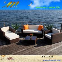 3s118 projeto o mais atrasado do terraço de lazer sofá de vime conjunto