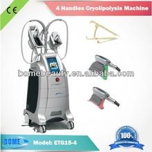 cryolipolysis treatment beauty machine 4 head slimming production