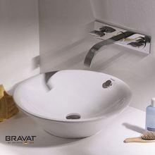 bathroom art ceramic wash basin Energy saving Smooth surface