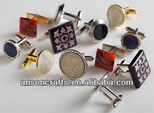 Custom Logo Cufflinks with Gift Boxes