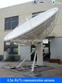 Stazioni terrestri 6,2 m banda ku antenna satellitare- riceve e trasmette i