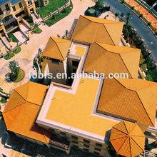 2014 newest design 300x400mm ceramic roof tile price