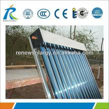 Non pressure all glass 15 vacuum tubes Solar Heating Panels