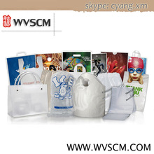 Custom logo plastic shopping bags