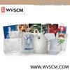 Custom logo plastic shopping bags