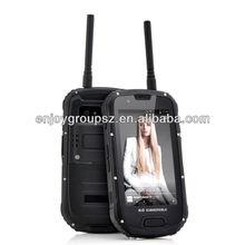 S09 4.3inch IP67 MTK6589 Quad Core Andriod 4.2 3G rugged smart phone