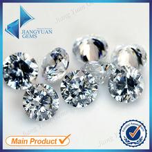 3.0mm 4.0mm 5.0mm Wholesale fake gemstone synthetic loose diamonds