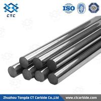 Zhuzhou factory supply tungsten carbide rod, solid tungsten carbide round rod