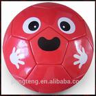 Glossy PVC machine stitched kids mini soccer ball
