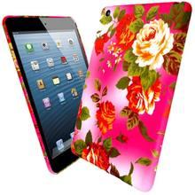 2014 Beautiful Gel Flower Case Cover for iPad 2 3 4 Mini
