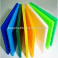 china tipos de folha de acrílico