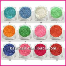 Factory wholesaler color nail acrylic glitter powder