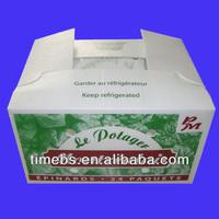 Hot sales nontoxic pp corrugated plastic vegetable crate/ box