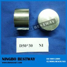 N35 N42 N45 N48 N52 high quality Huge Cylinder Magnet/Magnetic rod