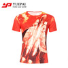 high quality oem design men all over sublimation printing custom t-shirt