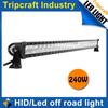 Good news ! 16800lm 240W LED OFFROAD LIGHT BAR xenon Led Work Light Bar/Led Ofroad Light bar car accessoryon on sale