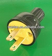 American 2 pin electrical plug