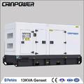 13 kva tipo silencioso mejor generador diesel para uso en el hogar y súper silencio 50hz 1500rpm/min, alternador 220v