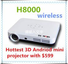 Latest!!!3D wifi mini projector