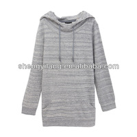 new style hot sale checked hoodies for women