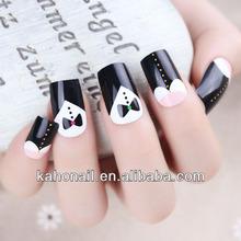 2014 100% real nail polish strips nail polish sticker wholesale