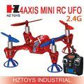 Wl juguetes v252 2.4g 4ch 6 giroscopio eje 3d volar fácil control remoto helicóptero ovni escala modelo de aeronave calcomanías