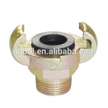 European Type air hose claw coupling
