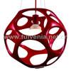 FULVENIA 2014 hot sale red resin modern lighting