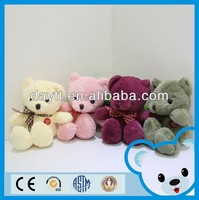 famous soft toys high quality bear toy latex teddy