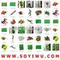 Natural flores coroa de flores atacadista de mercado de Yiwu para flor Artificial & Bines