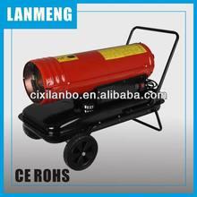 Kerosene forced air heater 40kw 136000btu LXC40M fl