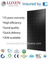 300w mono pv solar panel ALL BLACK solar module