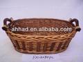 Venta al por mayor baratos cesta/cesta de mimbre grandes para el vino/tejer cestas de regalo