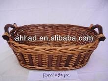 cheap wholesale basket / large wicker basket for wine / knitting gift baskets