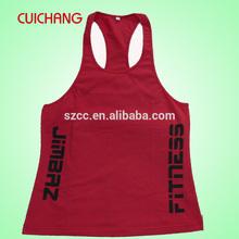 Custom stringer tank tops ,t back gym singlet & stringer vest SC-348