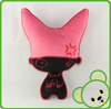 stuffed animals from china wholesale cat toys monster cat plush toy embroidery designs