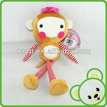jouet valentines day soft toy monkey