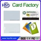 Leader Factory LF/HF/UHF standard card or color printed smart card maker